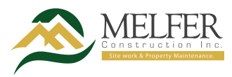MELFER Construction Inc. Mobile Retina Logo